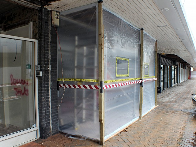 Asbestos removal in Doncaster - Queensgate, Waterdale shops regeneration project