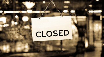 COVID-19 Company Update - Now closed until further notice